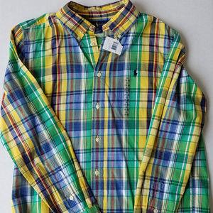 Polo Ralph Lauren Long Sleeve Shirt Size XL 18-20